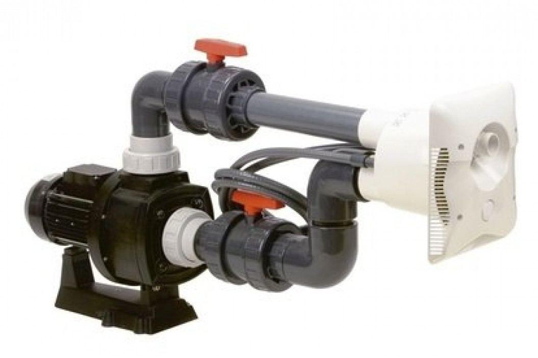 Bazénový protiproud K - JET 400V  70m3 / hod  3,3kW Vestavěné protiproudy