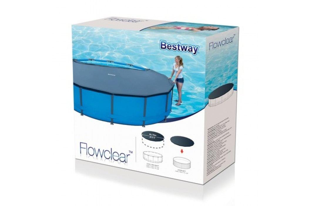 Krycí plachta na bazén Bestway 58038 o průměru 4,57m
