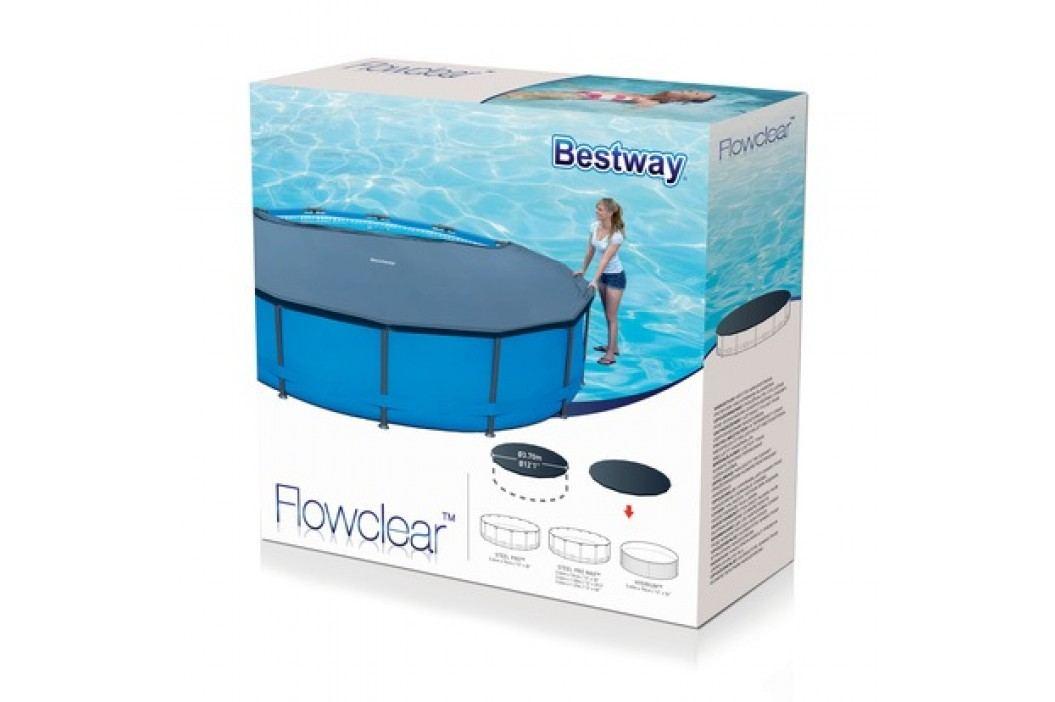 Krycí plachta na bazén Bestway 58037 o průměru 3,66m