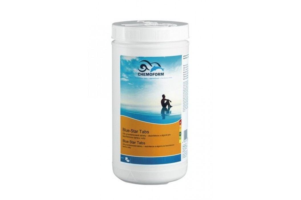 Chemoform Blue Star Tabs 1kg Bezchlorová dezinfekce bazénové vody