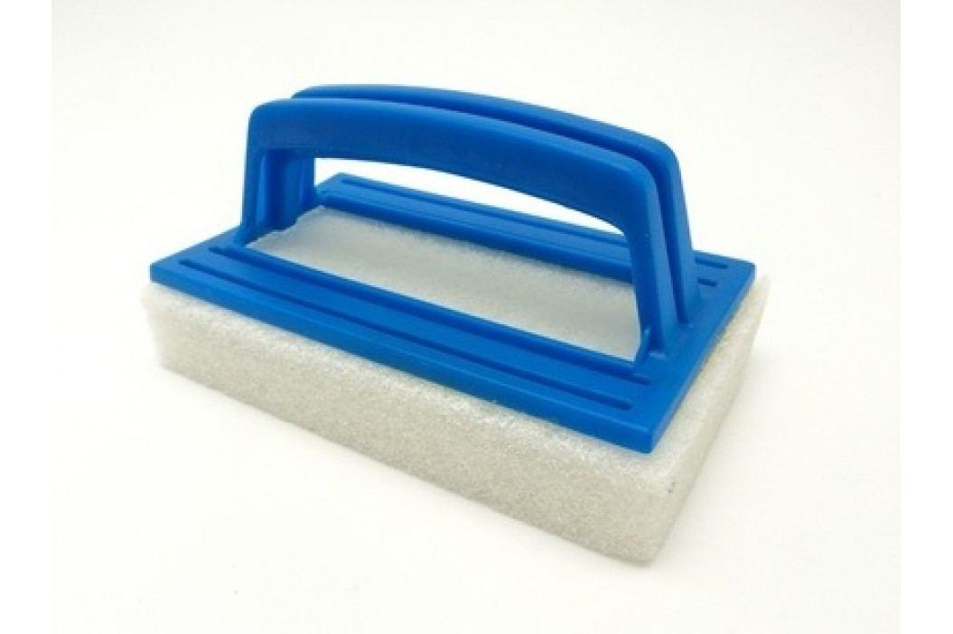 Houbička s rukojetí na čištění bazénové folie Síťky a kartáče
