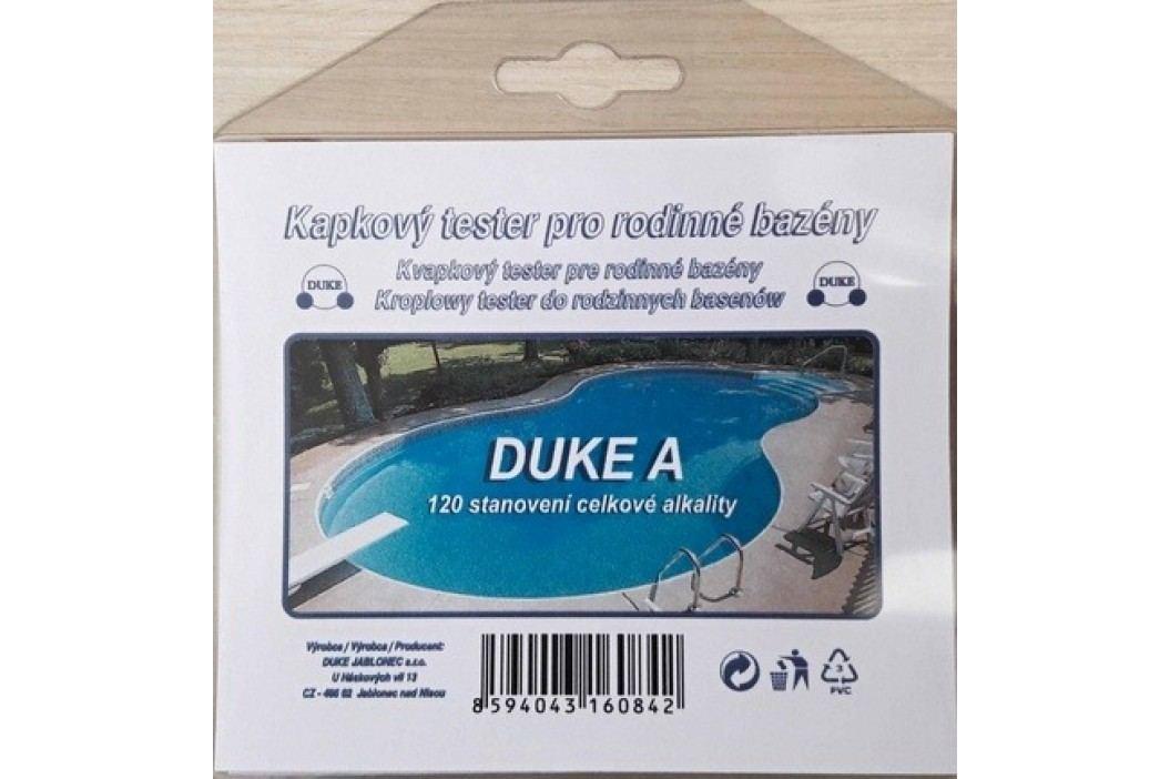 Kapkový tester DUKE A na alkalitu vody