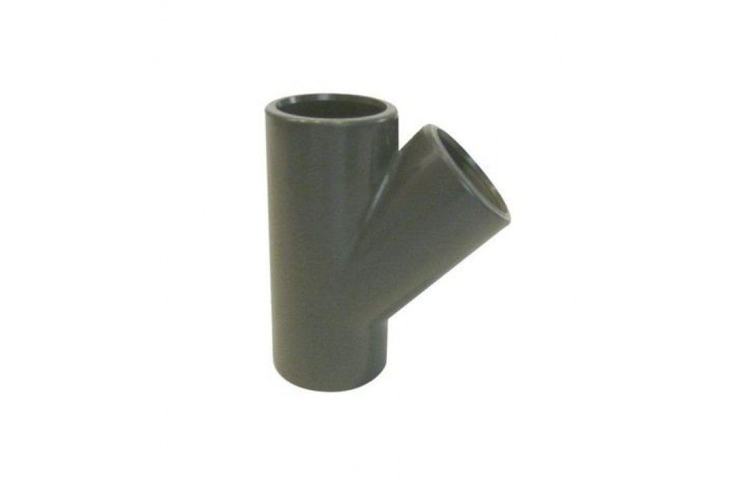 T - kus PVC úhel 45° - 50mm