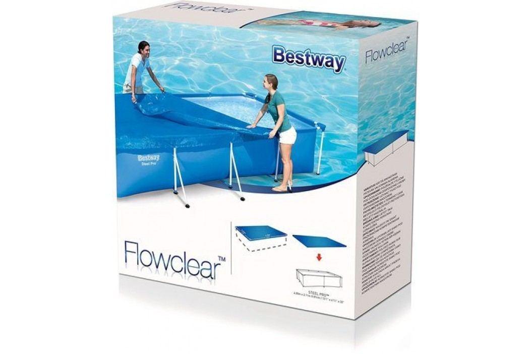 Bestway 58107 Krycí plachta na bazén 4,00 x 2,11m Krycí plachty