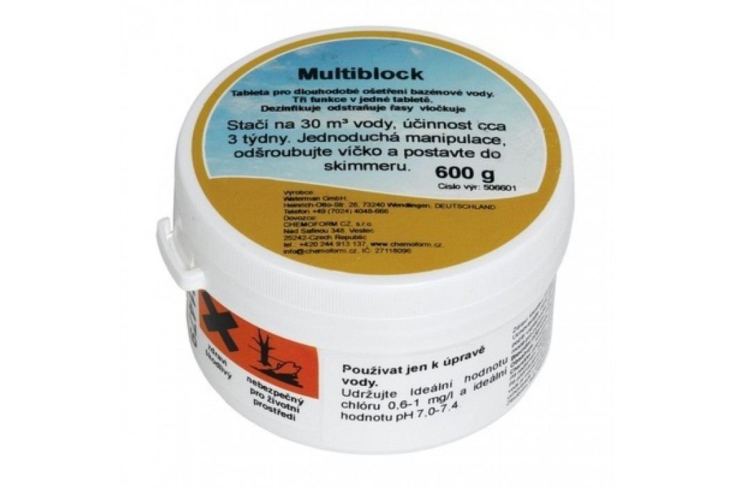 Chemoform Multiblock 600g Chlorová dezinfekce bazénové vody