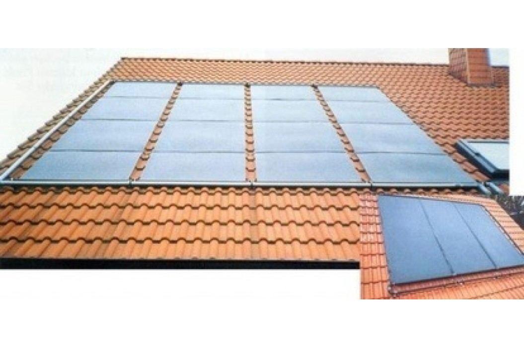 Solární ohřev vody pro bazén S2,9 - 2,88m2 Ploché solární ohřevy