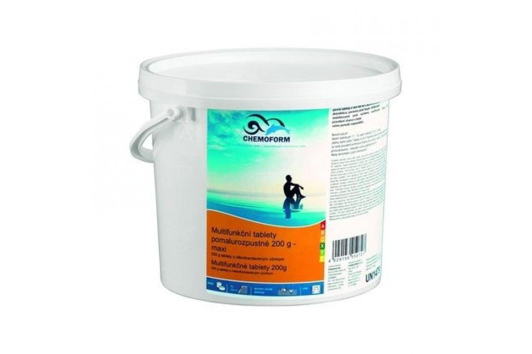 Chemoform Multifunkční tablety maxi pomalorozpustné 200g - 3kg Chlorová dezinfekce bazénové vody