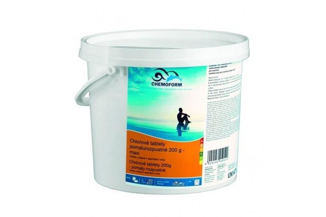 Chemoform Chlorové tablety maxi pomalurozpustné 3kg Chlorová dezinfekce bazénové vody