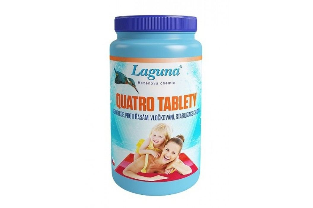 Laguna Quatro tablety 1kg Chlorová dezinfekce bazénové vody