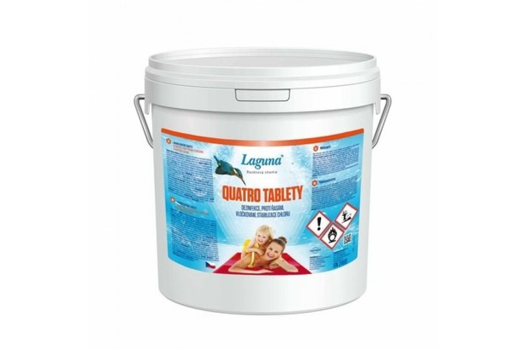 Laguna Quatro tablety 2,4kg Chlorová dezinfekce bazénové vody