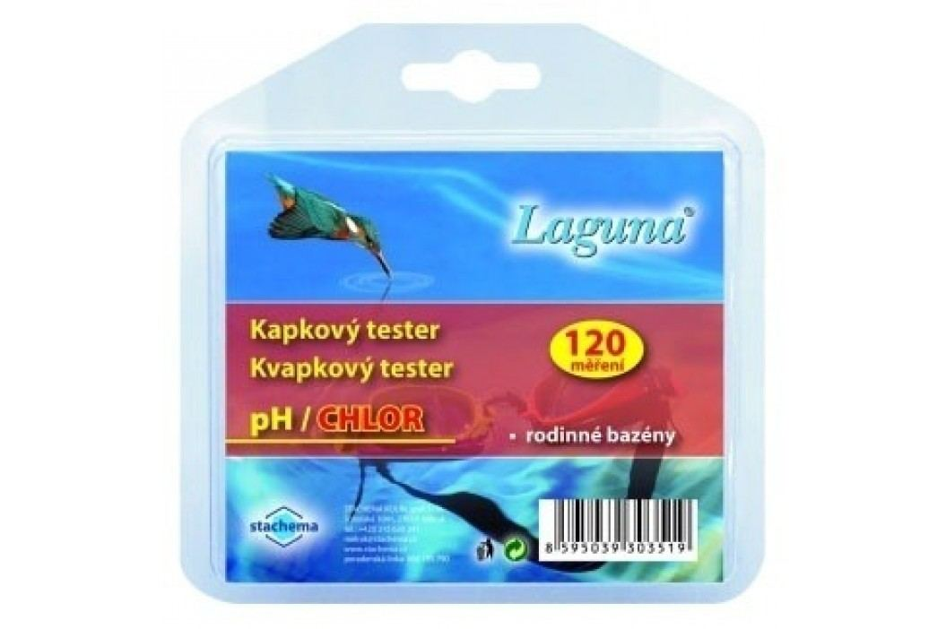 Tester  pH / chlor kapičkový LAGUNA Testery bazénové vody