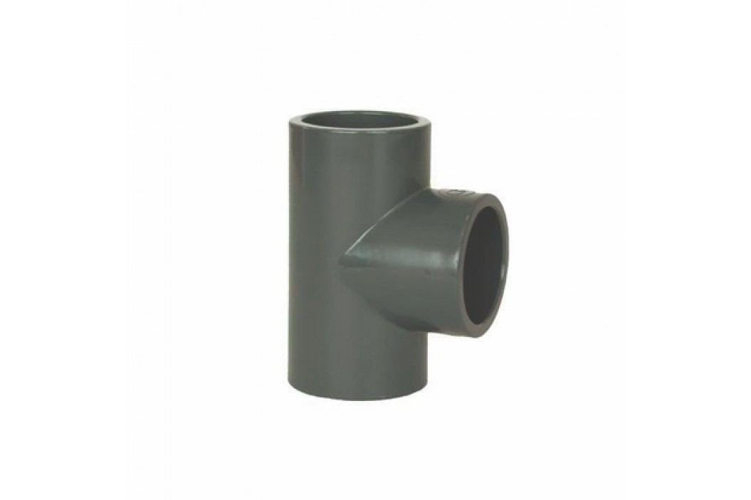 Vagnerpool PVC tvarovka - T-kus 90° 63 mm Vodoinstalační materiál
