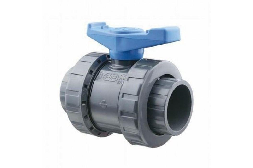 Vágnerpool Kulový dvoucestný ventil 63 mm -- Easyfit Vodoinstalační materiál