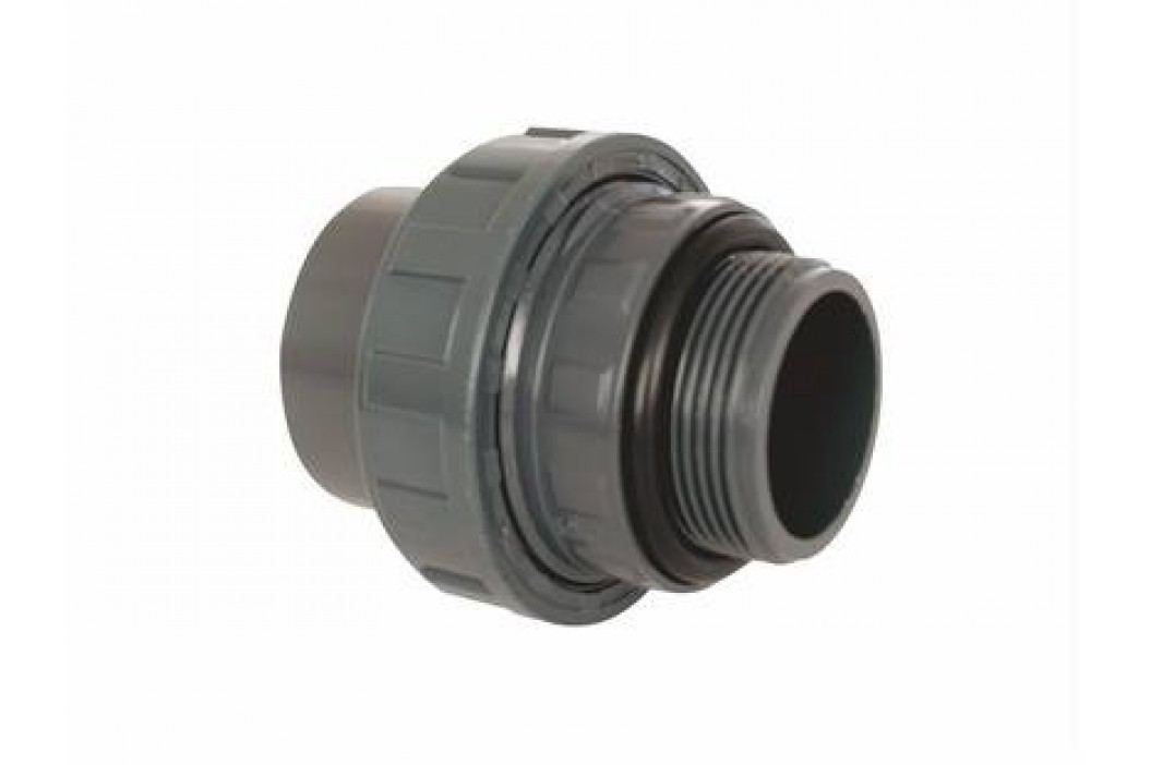 """Vágnerpool PVC tvarovka - Šroubení 50 x 1 1/2"""" int. Vodoinstalační materiál"""