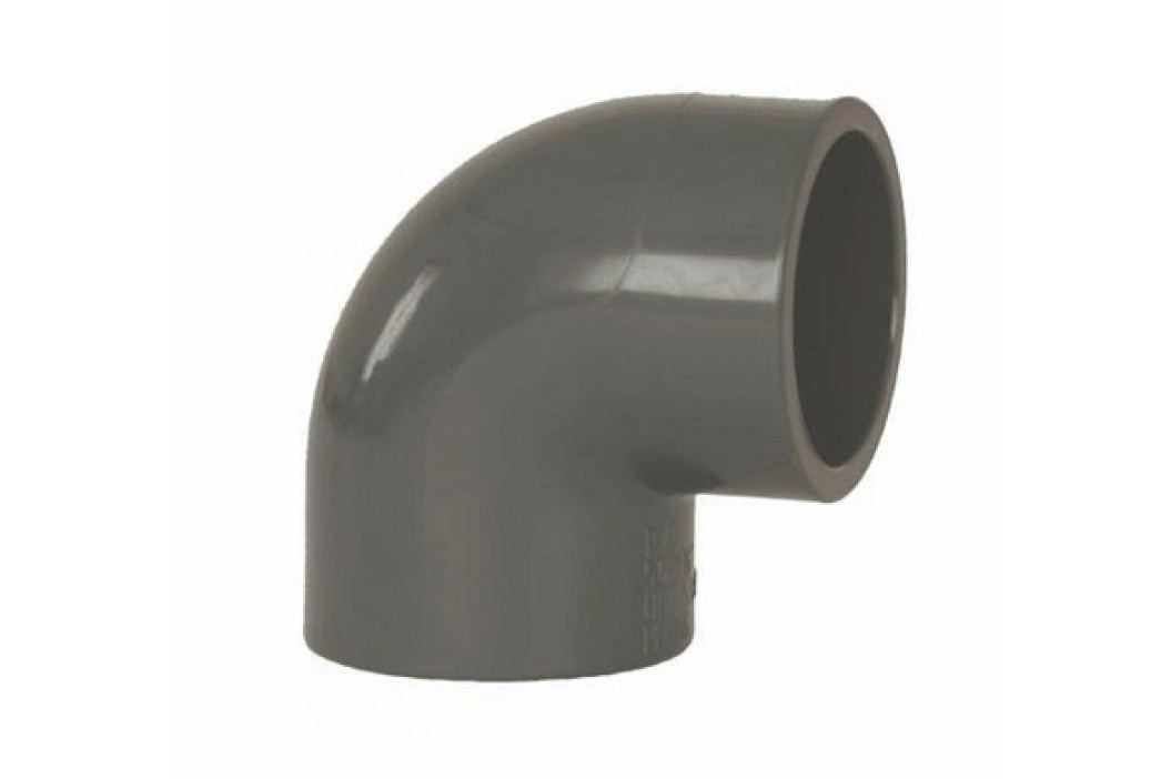 Vagnerpool PVC tvarovka - Úhel 90° 75 mm Vodoinstalační materiál