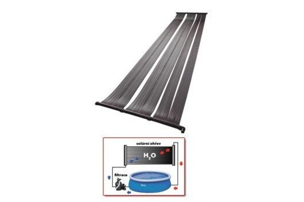Solární ohřev bazénu, modul 3m2 Ploché solární ohřevy