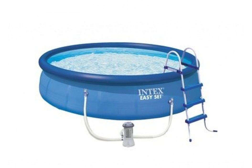 Bazén INTEX 4,57 x 1,07m kartušová filtrace + schůdky Bazény INTEX Easy Set