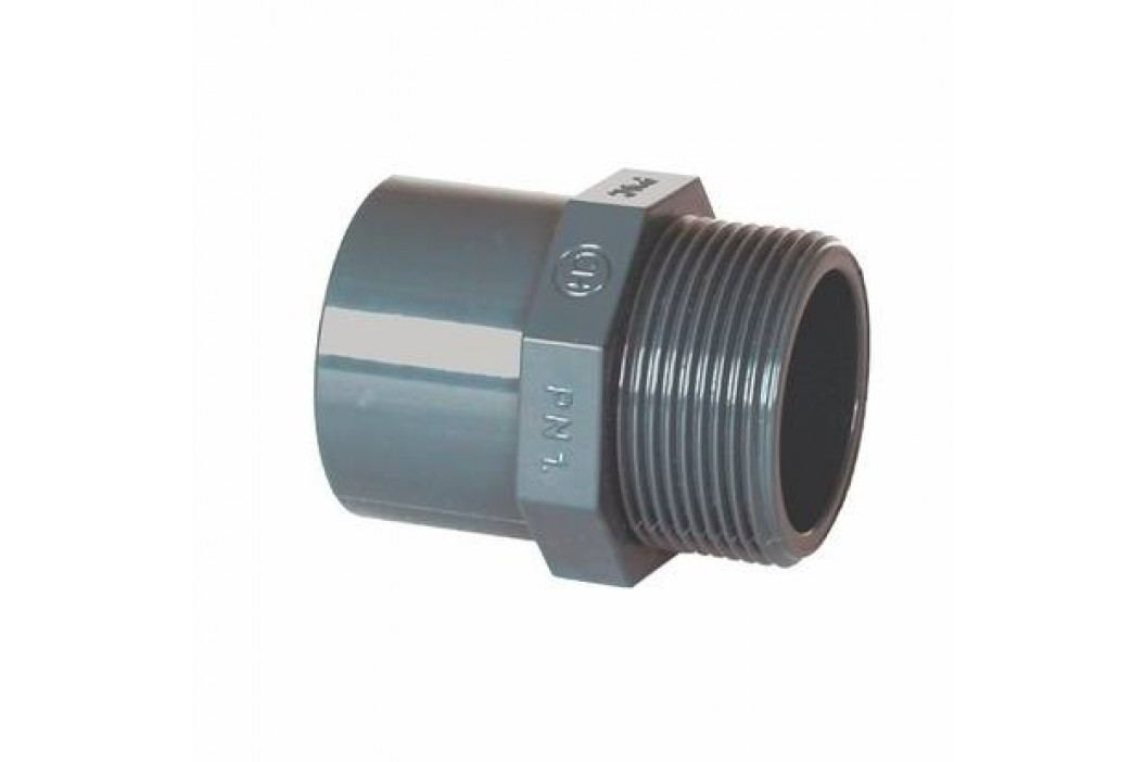 """Vágnerpool PVC tvarovka - Přechodka 63--50 x 1 1/2"""" ext. Vodoinstalační materiál"""