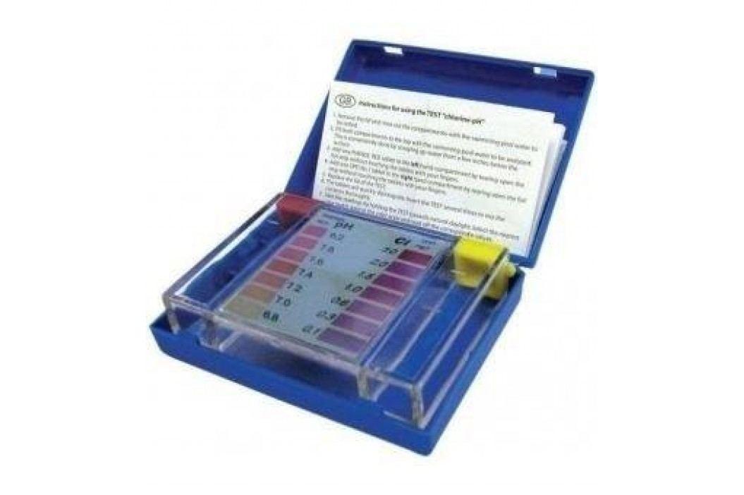 Bazénový tester na pH a chlor - tabletový Testery bazénové vody