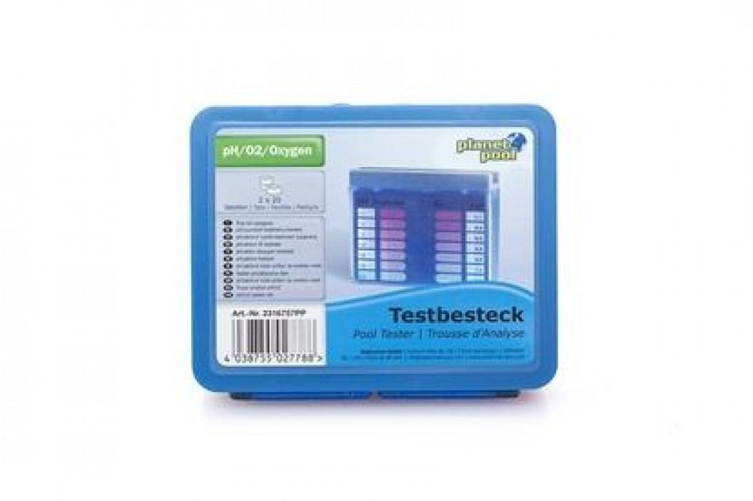 Bazénový tester na pH a O2 - tabletový