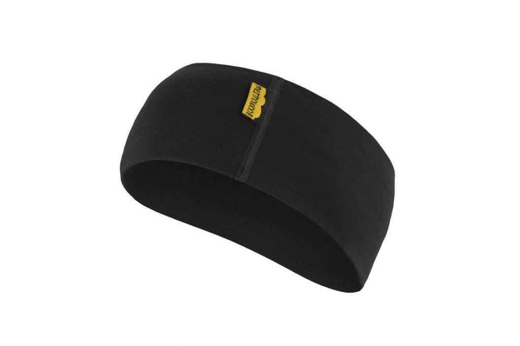 Sensor Čelenka Merino Wool černá Čelenky