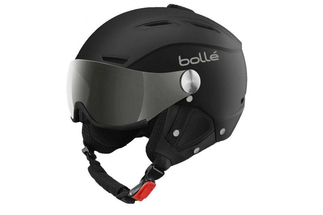 Bollé Backline Visor Soft Black & Silver With Modulator Grey Visor 56-58 cm Snowboardové přilby
