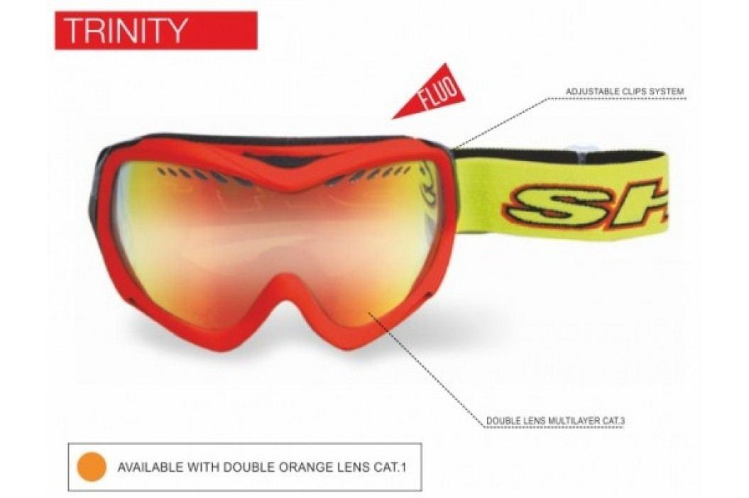 SH Plus brýle lyžařské Trinity  Frame: Orange Matt Lens: Double Lens Orange cat. 2 Lyžařské brýle