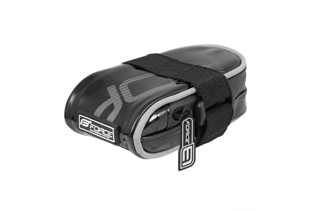 Force brašna pod sedlo  Minipack suchý zip černá Cyklistické brašny