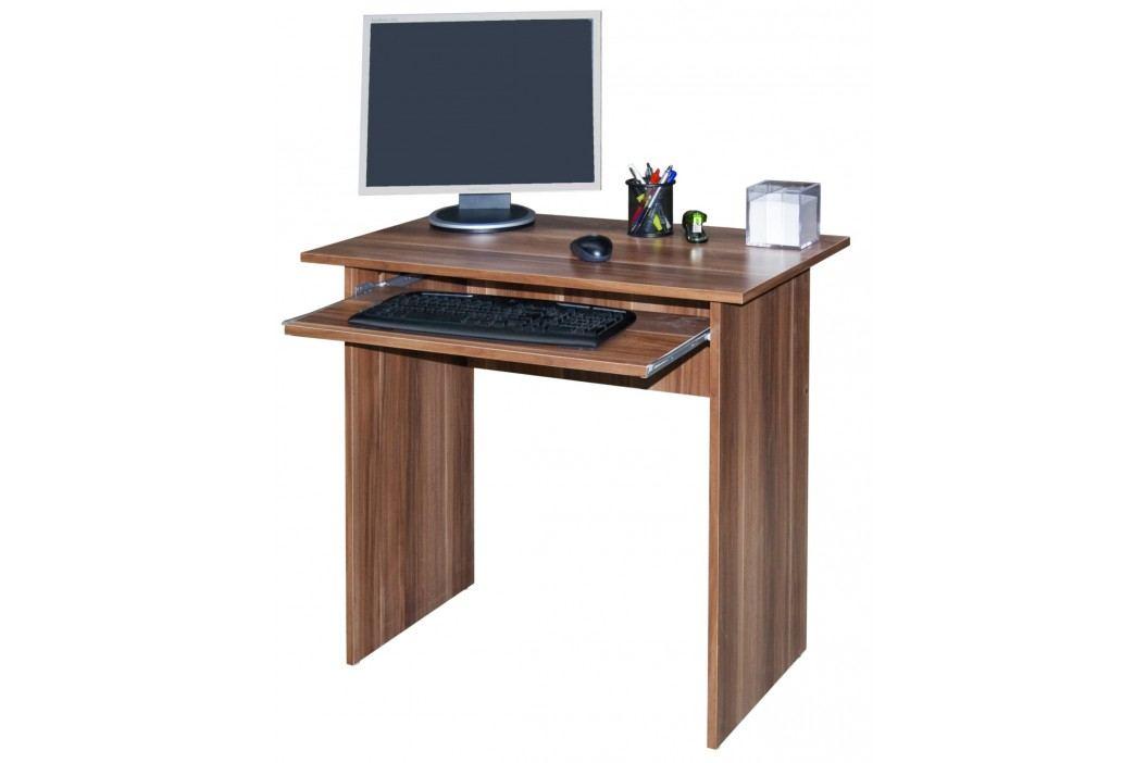 MB Domus Jednoduchý  PC stůl TWIST, švestka Psací stoly