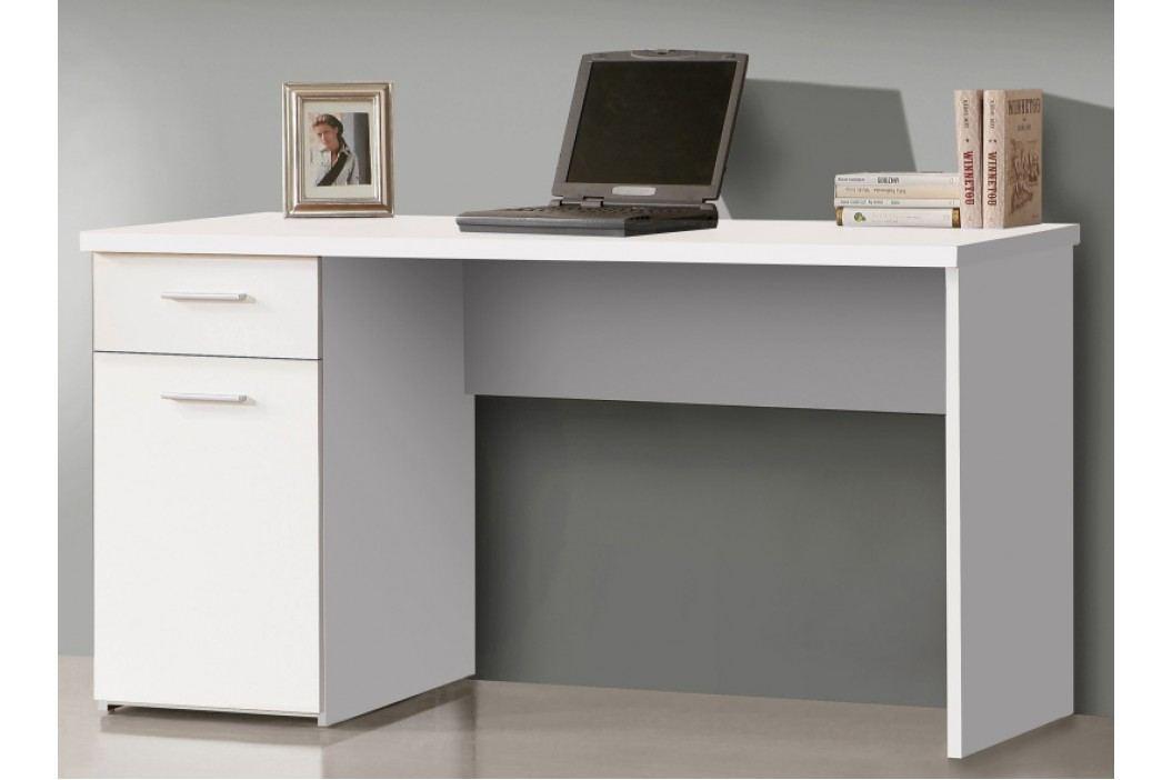 Kvalitní psací stůl NET106 MT936, bílý uni mat