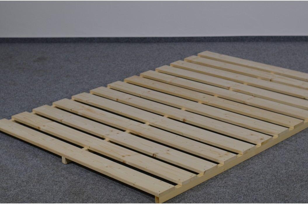 Profispánek Rošt v rámu 140x200 cm, masiv smrk