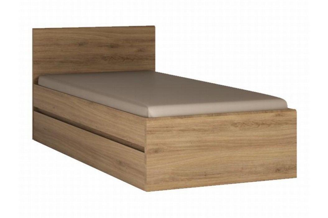 Extom HOBBY, postel, dub divoký lamino