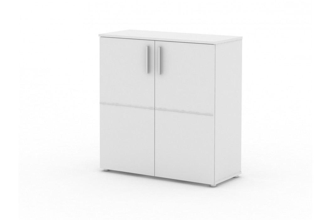 MB Domus Komoda IDA 01, bílá lamino