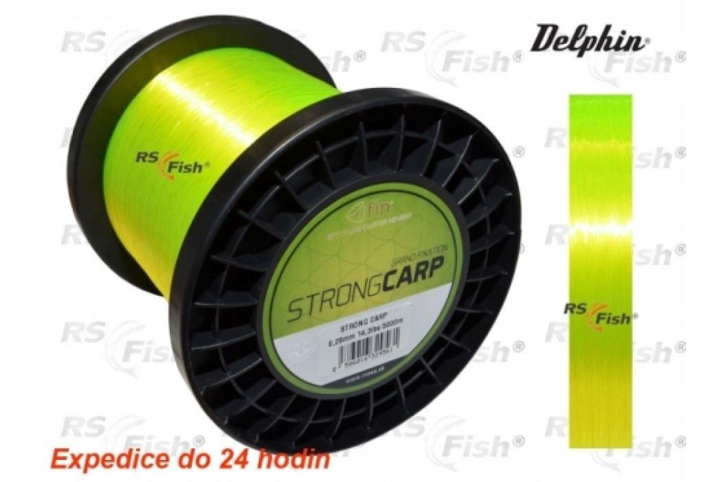 Delphin® FIN Strong Carp 0,250 mm Rybářské vlasce a ocelová lanka