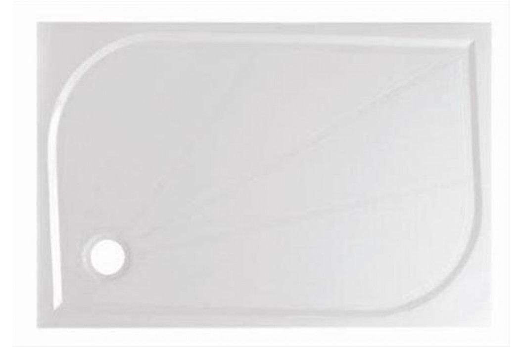 Sprchová vanička obdélníková SIKO LIMNEW 120x80 cm, litý mramor LIMNEW12080 Sprchové vaničky