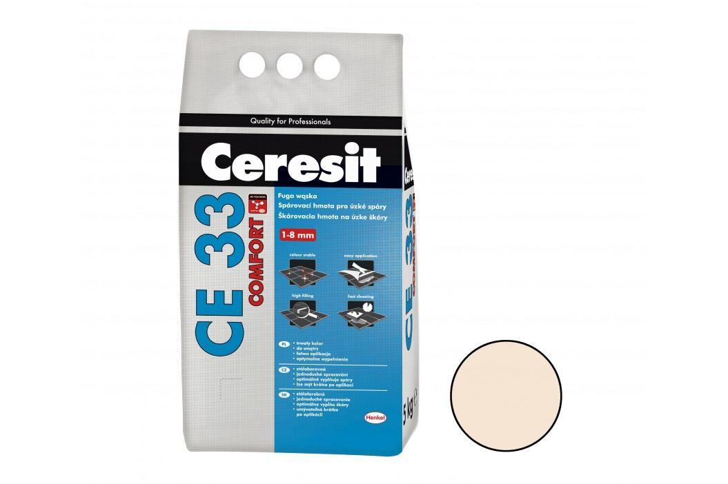 Spárovací hmota Ceresit CE33 5 kg natura (CG2) CE33541