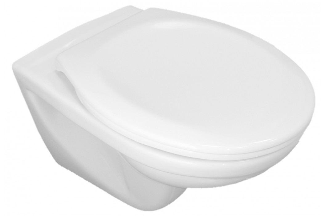 Závěsné WC se sedátkem Jika Dino, zadní odpad, 53cm SIKOSJDI21377
