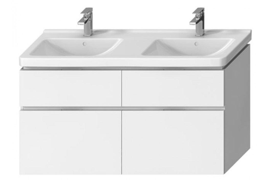 Skříňka pod umyvadlo Jika Cubito 130 cm, bílá H40J4274025001