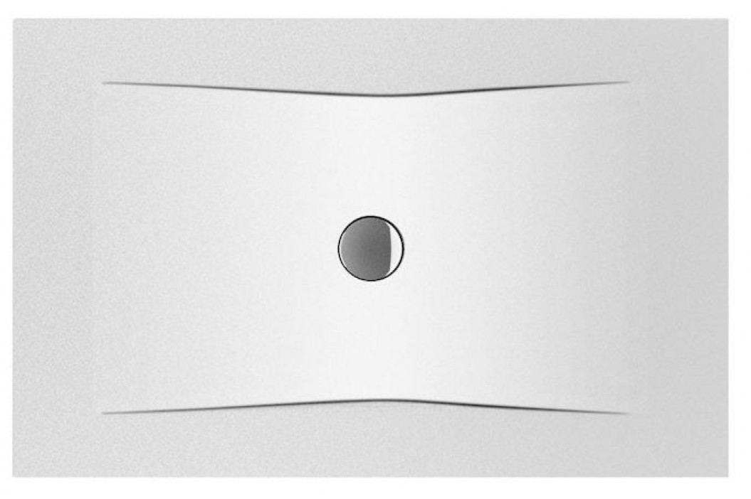 Sprchová vanička obdélníková Jika Pure 130x90 cm, smaltovaná ocel 2,8 mm H2164236000001