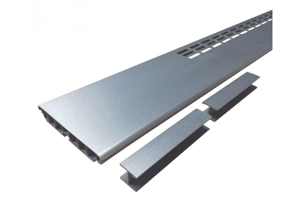 Mřížka v soklu AL broušený 60cm VMSAL60