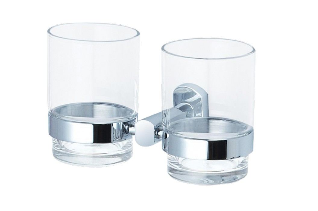 Optima Spirit dvojitý držák skleniček - SPI47 Stojany na kartáčky