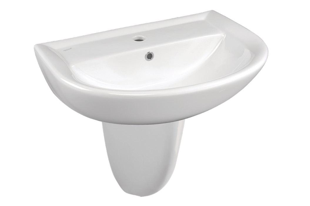 Ideal Standard Eurovit - Polosloup, bílá W310101