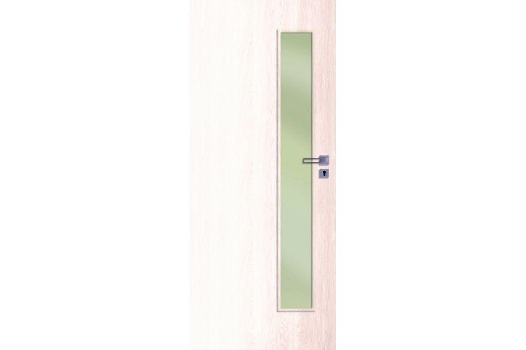 Interiérové dveře NATUREL Deca, 80 cm, pravé, borovice bílá, DECA10BB80P