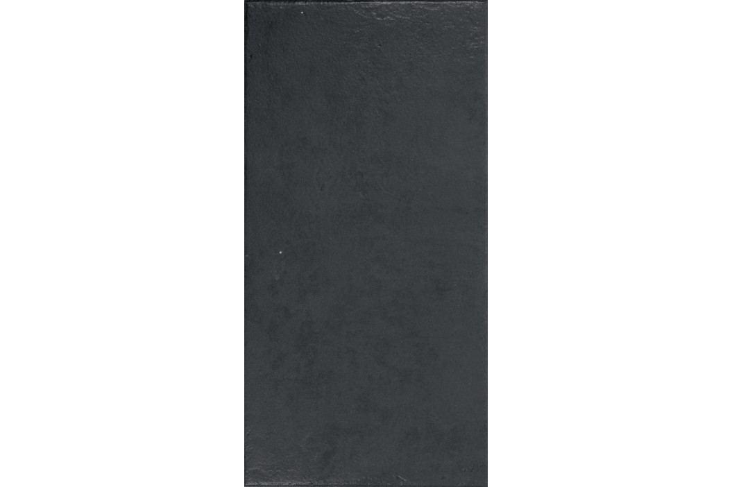 Dlažba Rako Clay černá 30x60 cm, mat, rektifikovaná DARSE643.1