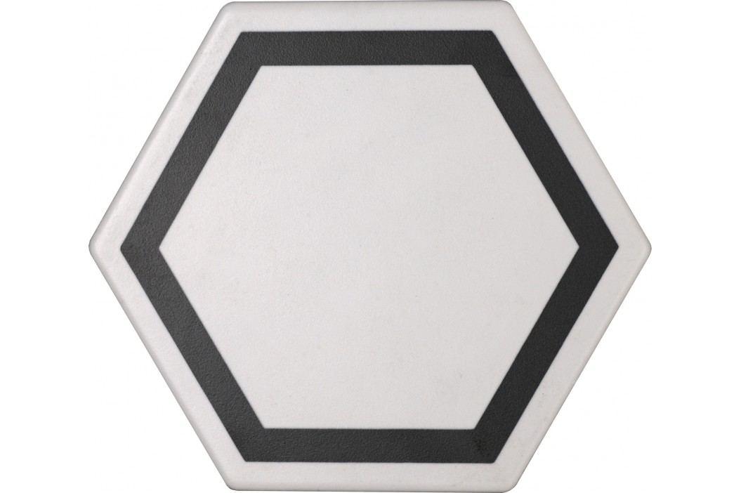 Dlažba Tonalite Examatt bianco exatarget 15x17 cm, mat EXMDEXABI Obklady a dlažby
