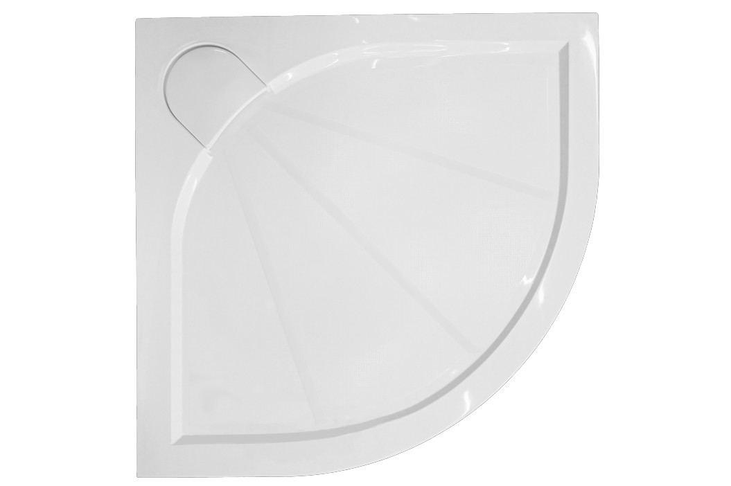 SIKO sprchová vanička čtvrtkruhová 100x100 cm, R 550, litý mramor - SIKOLIMCC100S Sprchové vaničky