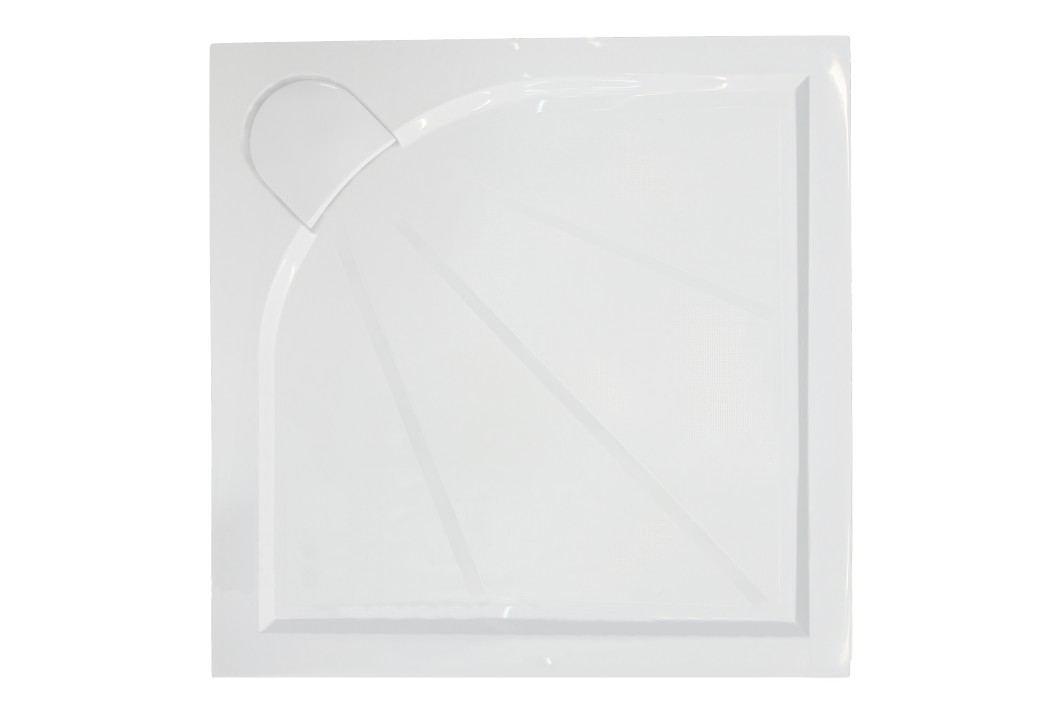 SIKO sprchová vanička čtvercová 100x100 cm, litý mramor SIKOLIMCC100Q Sprchové vaničky