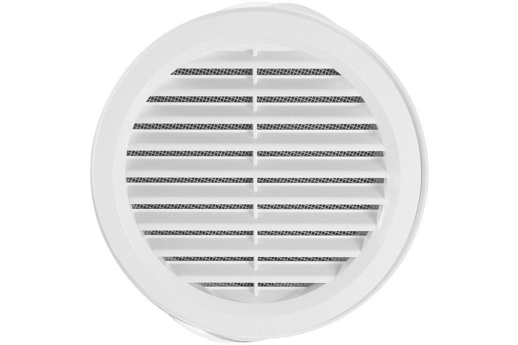 HACO Větr.mříž.kul.prům.10cm síťka, bílá VM100B Instalatérské potřeby