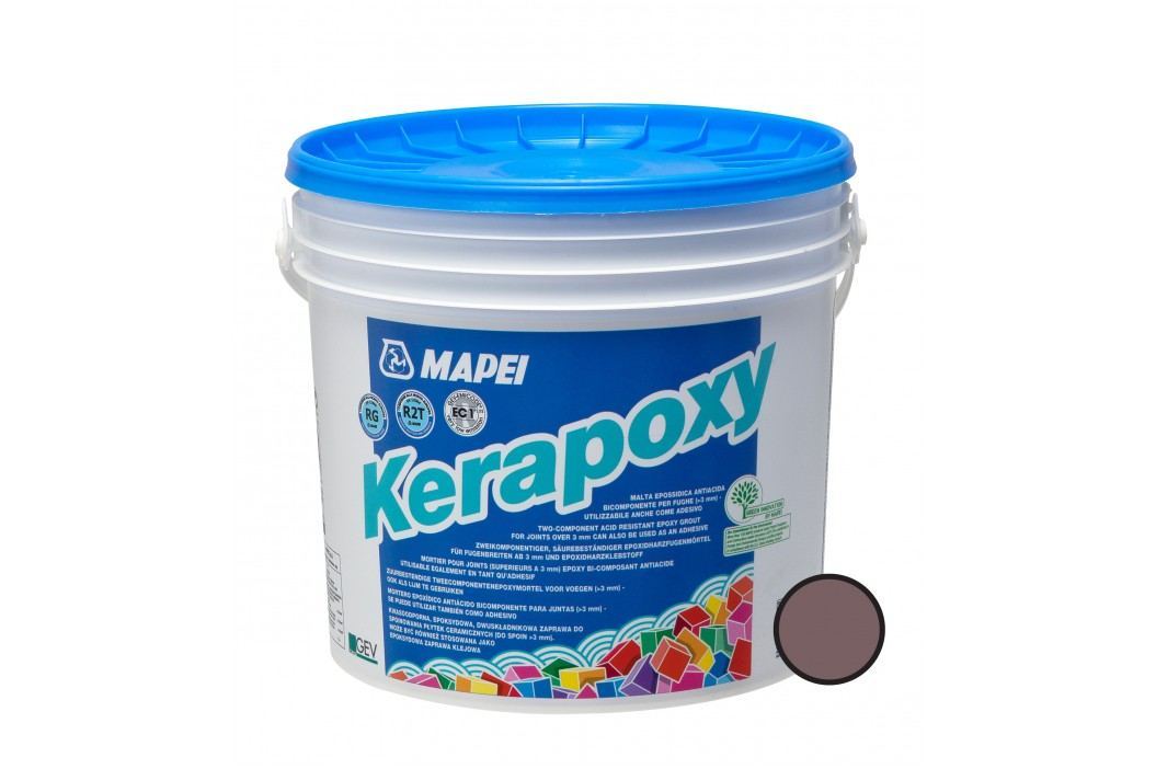 Spárovací hmota Mapei Kerapoxy 5 kg čokoládová (RG) MAPX5144 Spárovačky