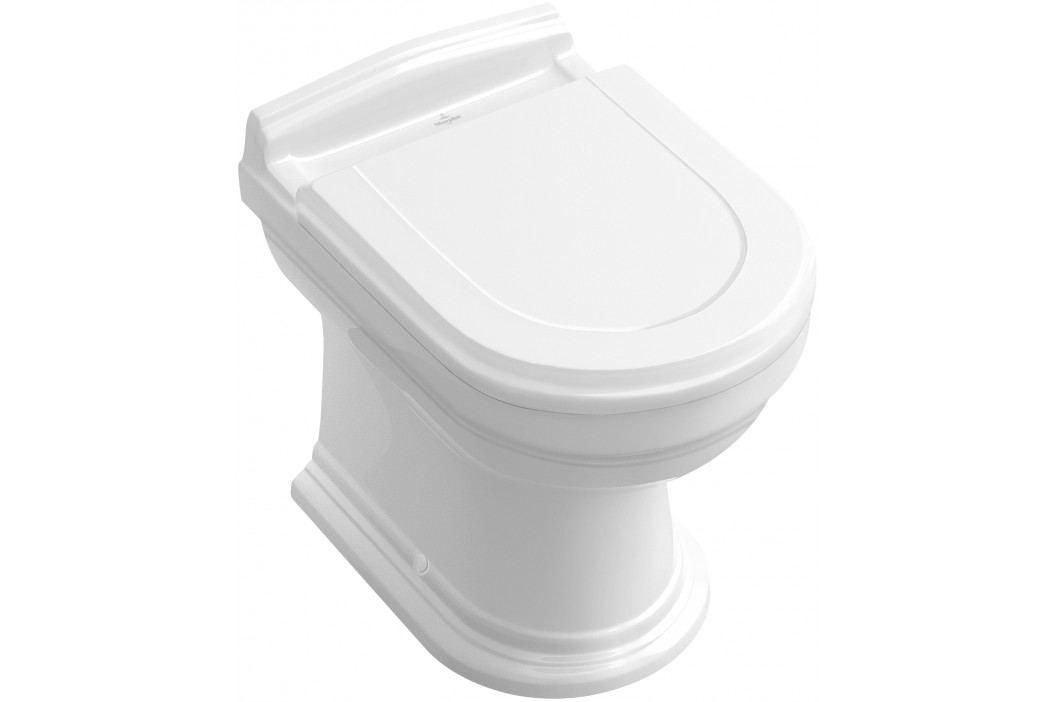 Stojící WC Villeroy & Boch Hommage, zadní odpad, 57,5cm 666310R1 Záchody
